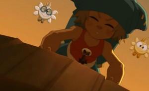 Dans l'épisode 21, Yugo emmène Az et Adamaï dans son portail de téléportation sans subir d'effet secondaire