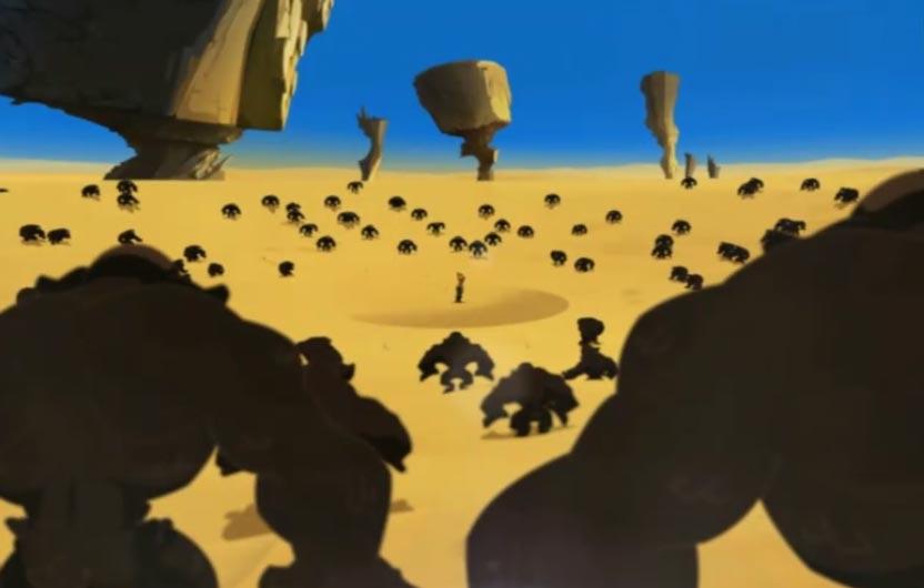 Rubilax a créé des clones de pierre