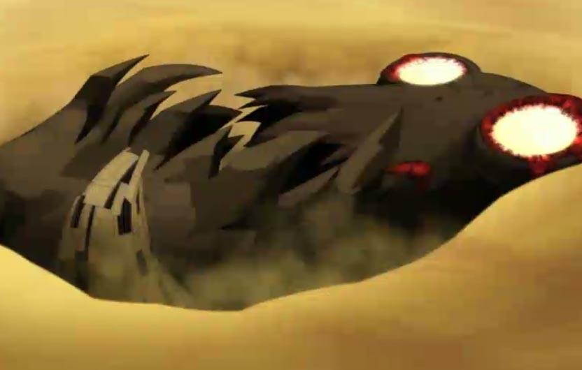 Rubilax s'enfonce dans le sable sous son propre poids