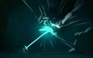 Yugo génère une décharge d'énergie avec ses portails