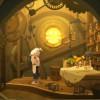 Nox reproduit des scène de son passé avec un théâtre de marionnettes