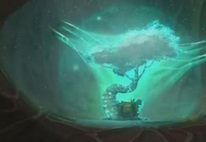 La forteresse de Nox absorbe le Wakfu de l'Arbre de Vie