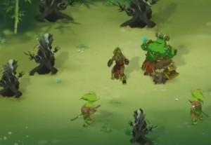 Lorsque l'Arbre de Vie meurt, les Sadidas se transforment en tronc d'arbre mort