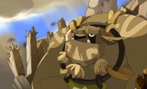 Dans le trailler du jeu vidéo en ligne Wakfu on peut voir Ogrest au sommet du Mont Zinit