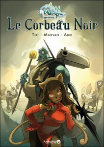 Wakfu Heroes Tome 1 - Le Corbeau Noir (couverture)