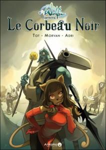 Wakfu Heroes Tome 1 - Le Corbeau Noir (couverture)
