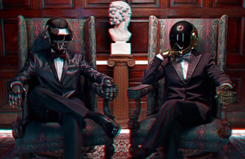 Daft Punk 3D 03