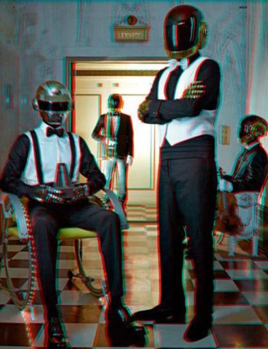 Daft Punk 3D 04