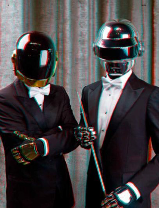 Daft Punk 3D 02