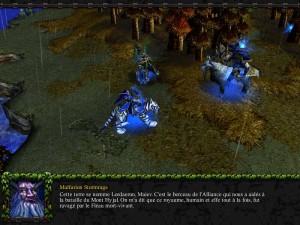 Tyrande, Malfurion et Maiev à Lordaeron