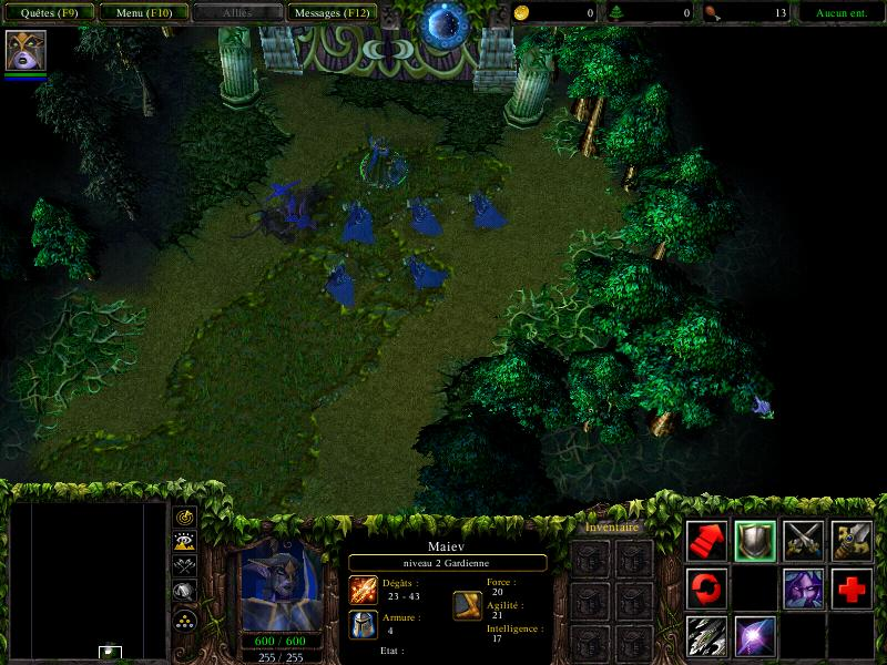 Exemple d&#039;un gameplay de Warcraft 3