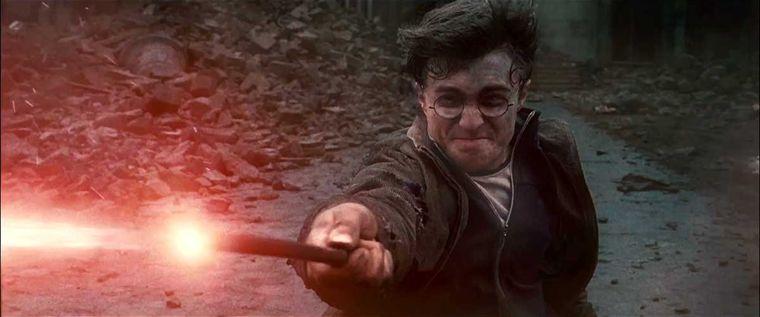 Harry Potter dans le film Harry Potter et les reliques de la mort
