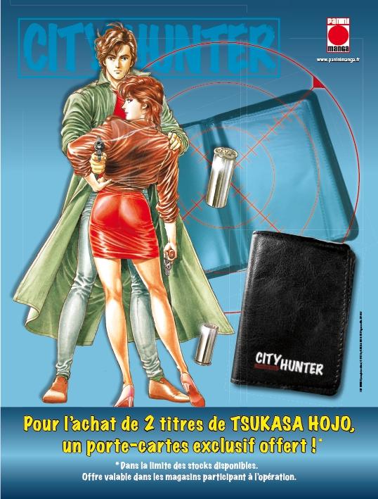 Flyer de l'opération City Hunter chez Panini