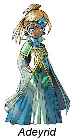La Reine Adeyrid, la mère de Jadina (Les Légendaires)