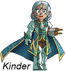 Le Roi Kinder est le père de Jadina (officiellement, mais pas biologiquement)