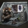 Swann, le technicien du Wing of Liberty de Starcraft 2 (gagnants du concours Diorama de Starcraft 2)