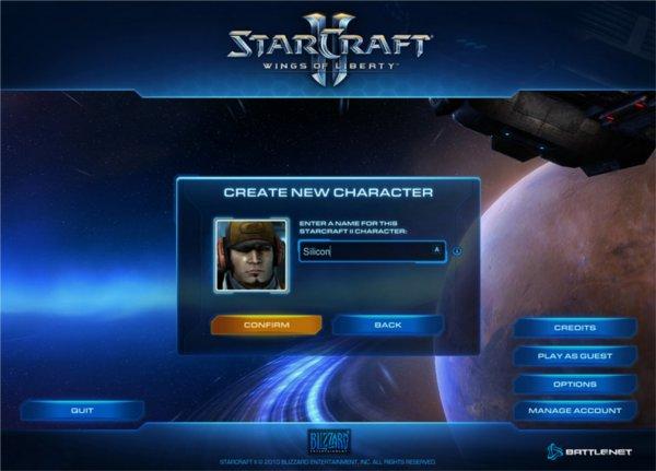 Ecran de connexion sur battle .net