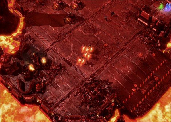 Capture d'écran de Starcraft 2