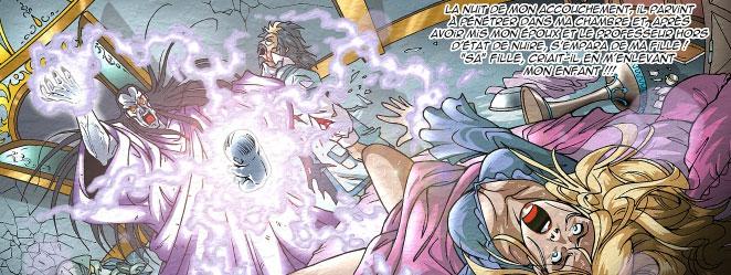 Darkhell a enlevé Ténébris à sa naissance