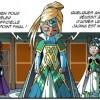 Adeyrid révèle à Ténébris et Jadina le secret de leur naissance