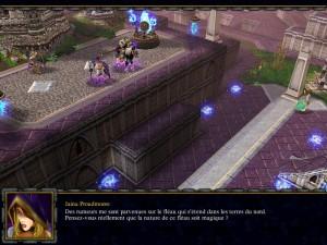 Vue de Dalaran (Warcraft 3)