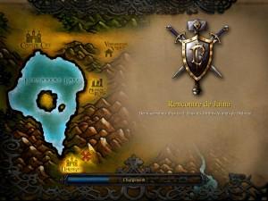 Ecran de chargement de Warcraft 3