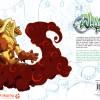 Dos de la couverture de l'Art book Tome 4 de Wakfu