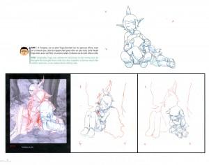 Page 8 de l'art book Tome 4 de Wakfu