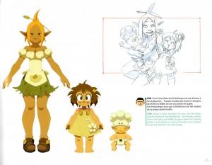 le design de la famille de Xav le boulanger est inspiré de la famille de Xavier Houssin (le chef character designer de la série)