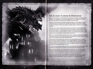 Page 10 et 11 de la notice du jeu Cataclysm (World of Warcraft)
