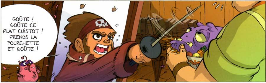 La capitaine pirate a quelques soucis d'autorité