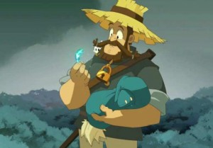 La plume magique de Az explique à Alibert d'où vient Yugo