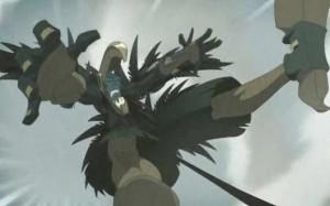 Yugo arrive à désarçonner le Corbeau Noir