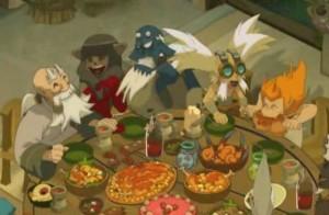 A la fin du match, Kabrok et Miranda sont invités à manger avec l'équipe
