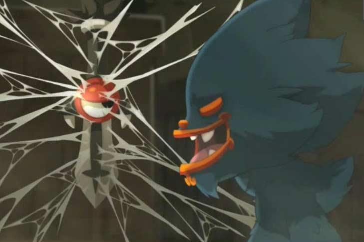 Rubilax se moque de Grufon parce qu'il est un shushu mineur et qu'il n'a pas de gardien