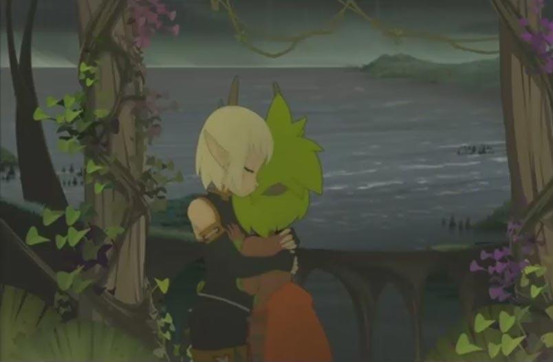 Amalia pleure contre Evangelyne