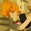 Evangelyne explique à Tristepin qu'il n'a pas besoin de gagner ce combat pour gagner son coeur