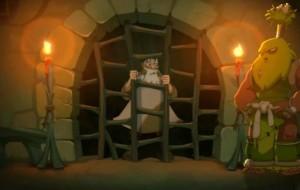 Dans la cellule de Ruel, il y a un avis de recherche pour le Corbeau Noir