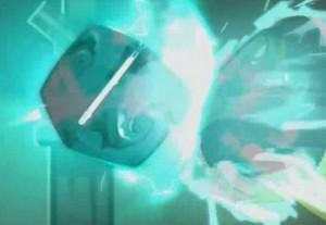 Yugo essaie d'utiliser le dofus de Grougaloragran pour neutraliser l'élicaube