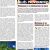 Page du Hors Série Cataclysm de Canard PC / Millenium. Exemple d'une page sur les alliés du joueur