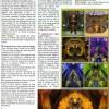 Page du Hors Série Cataclysm de Canard PC / Millenium. Exemple d'histoire Tauren.