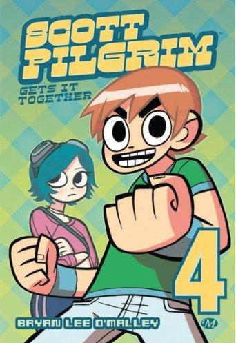 Couverture du tome 4 du comics Scott Pilgrim