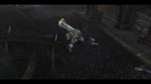 Les armes du traitre Crawley en action pour sauver le royaume de Gilnéas contre les Worgen (World of Warcraft)