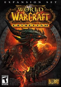Boite de Cataclysm, la troisime extension de World of Warcraft