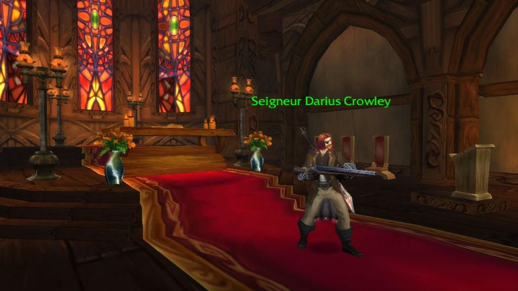 Le traîte Crowley rehabilite defendant Gilneas face aux Worgens
