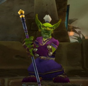 Magicien gobelin dans World of Warcraft