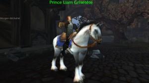 Style masculin worgen dans World Of Warcraft : on voit que c'est très Angleterre victorienne
