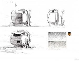 Page 41 de l'art book HS de Wakfu