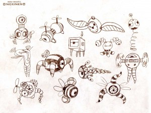 Page 119 de l'art book HS de Wakfu