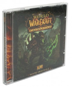 CD de l'OST du jeu Cataclysm (World of Warcraft)